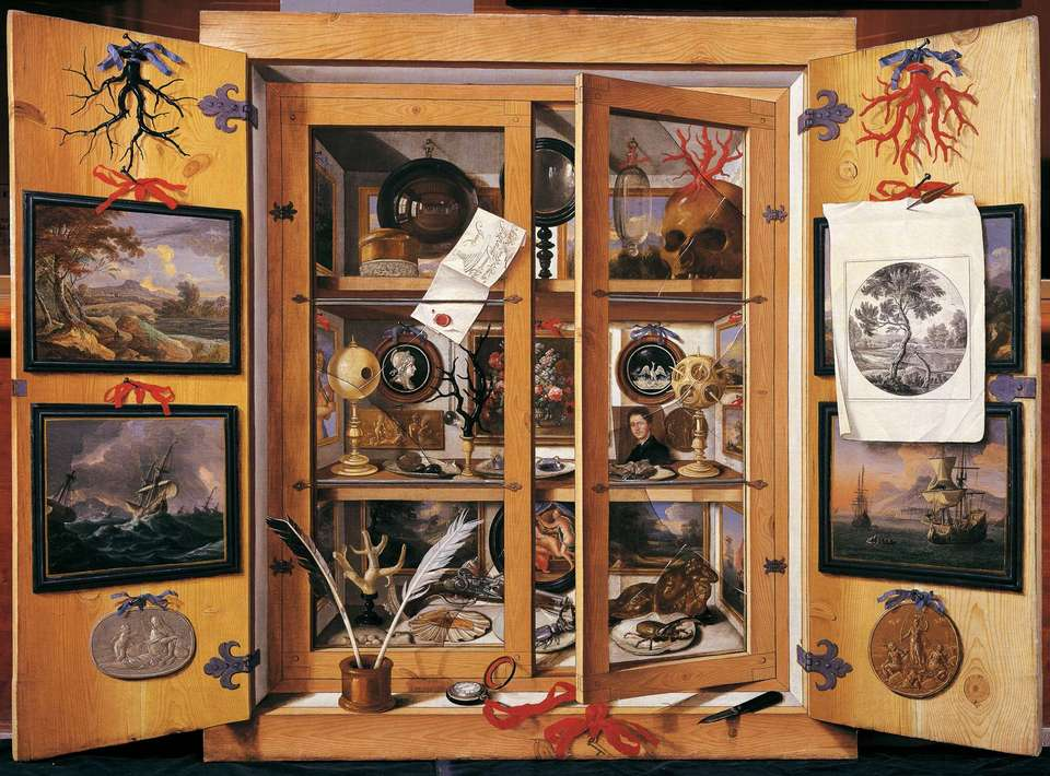 Cabinet Of Curiosities Sculpture