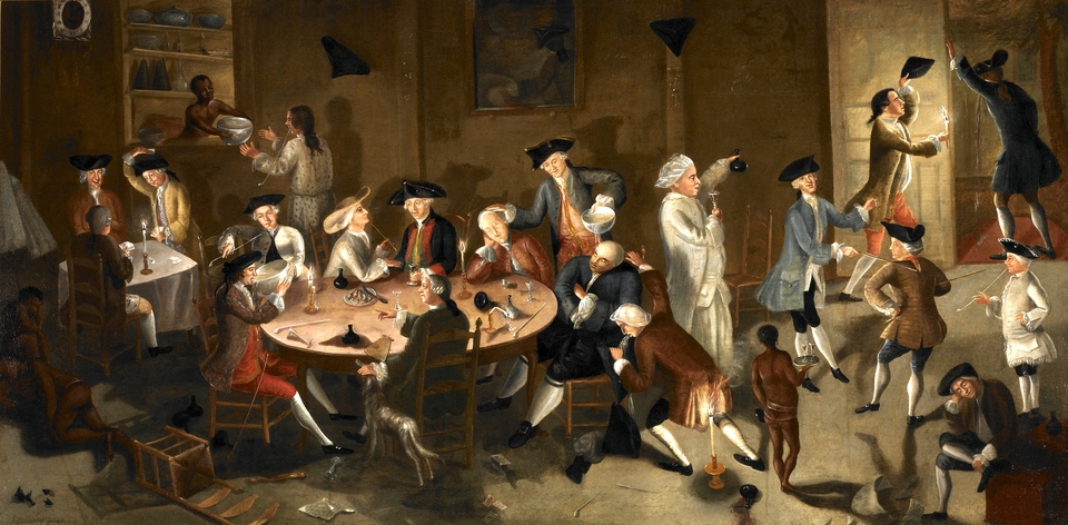 A toast to your health getting drunk in colonial americathe wolf sciox Images