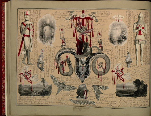 Page from Blood Book