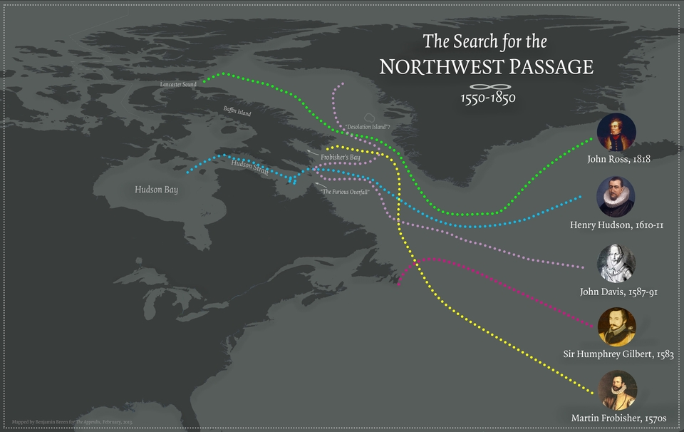 the northwest passage essay The dispute between the us and canada over the northwest passage's legal status has been a reoccurring subject of political and popular debate for almost 50 years.