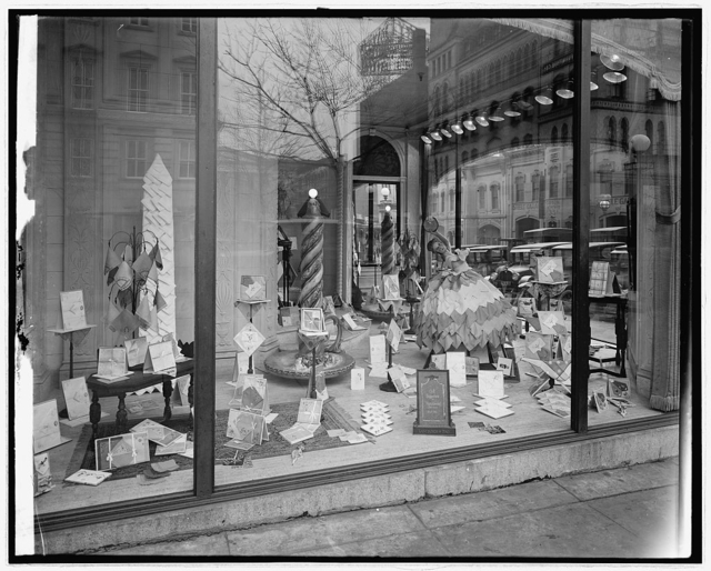 Department store window