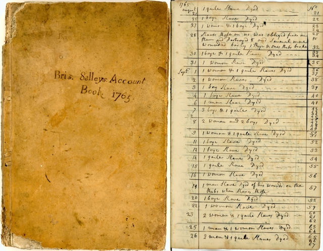 Slave Ship Account Book