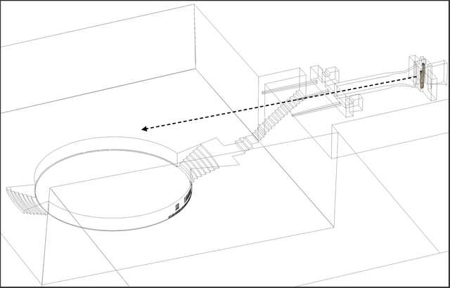 Reconstruction of Line of Speech in Different Architectural Areas