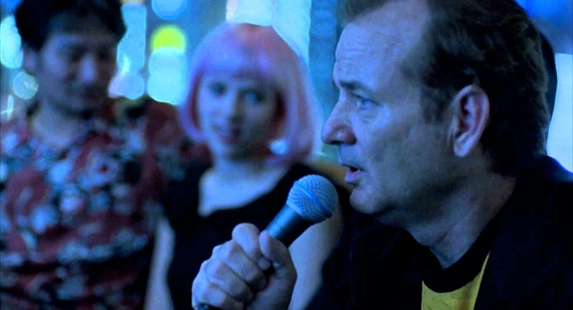 Bill Murray sings in Lost in Translation