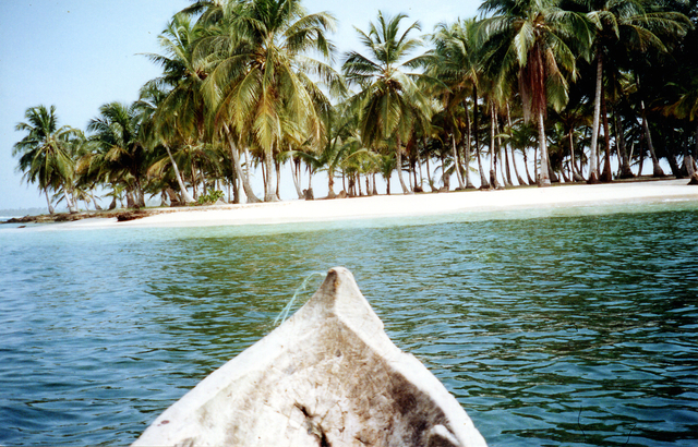 photo taken in San Blas islands