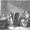 Engraving of bloodletting