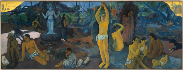 Gauguin painting