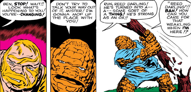 panel from Fantastic Four